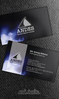 Business Card Andes '10 by inkrush