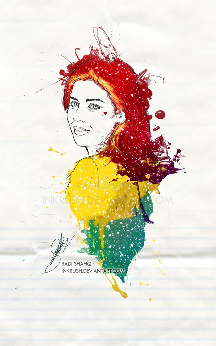 Marina Diamandis by inkrush