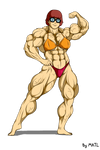 Velma Dinkley posing by MATL