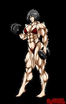 Commission - Mikasa