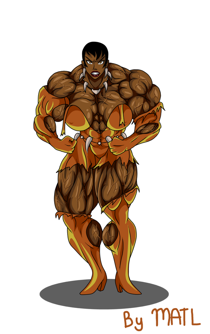 Commission Vixen Muscle Growth 3 By Matl On Deviantart
