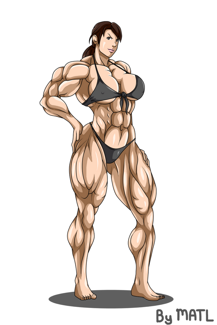 Commission - Quiet muscle growth 1 by MATL