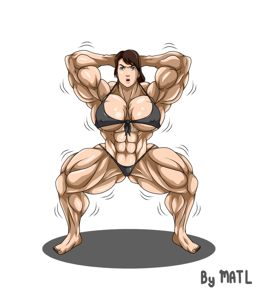 Commission - Quiet muscle growth 2 by MATL
