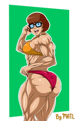 Commission - Velma Dinkley swimsuit by MATL