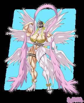 Commission - Angewomon