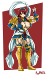 Commission - Erza Nakagami Armor 1 by MATL