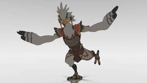 [MMD] Teba the Rito Warrior