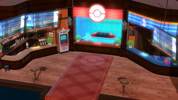 [MMD] Sw/Sh Pokemon Center *DL*