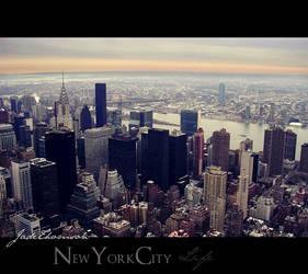 New York panoramic by FairyUnique