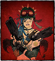 Tank girl by muffincheese