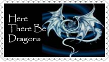 Here There Be Dragons by StaciGilbertArt