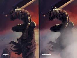 Alternative Beast Of Darkness by DalmoreEllie