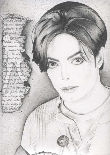 Michael Jackson with lollipop