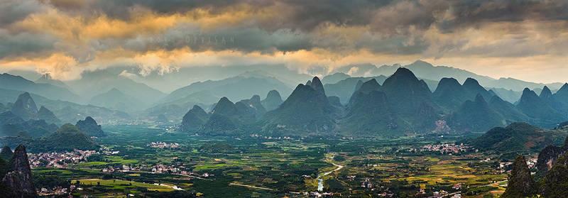 XingPing Panorama by doruoprisan
