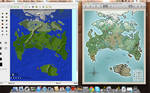 TwoKinds Map for Minecraft sketch