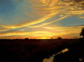 scenery1 - speed painting by Keitaro333