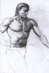 quick sketch - man 1 by Keitaro333