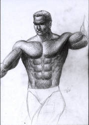 quick sketch - man 2 by Keitaro333