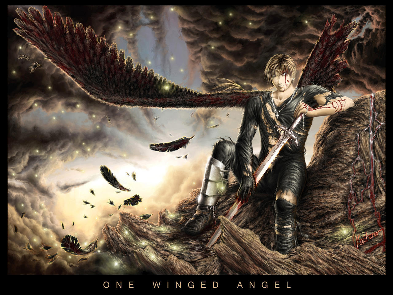 ONE-WINGED ANGEL by Keitaro333