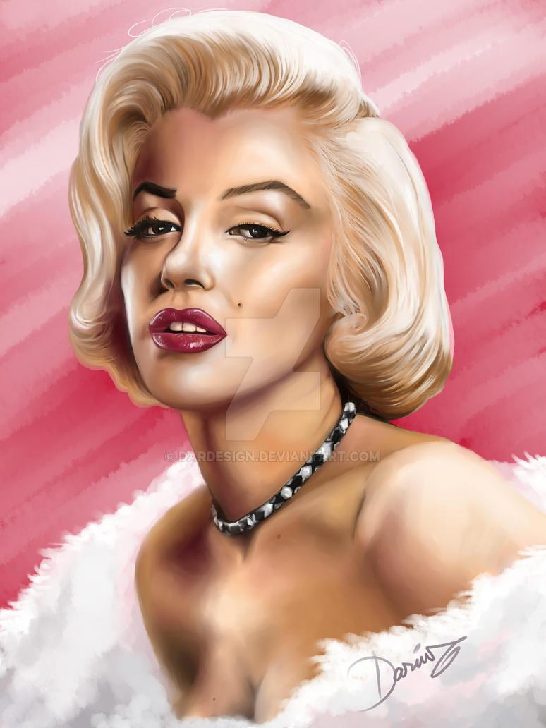 Marilyn Monroe by DarDesign