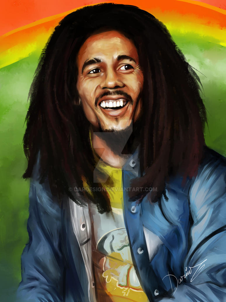Bob Marley by DarDesign