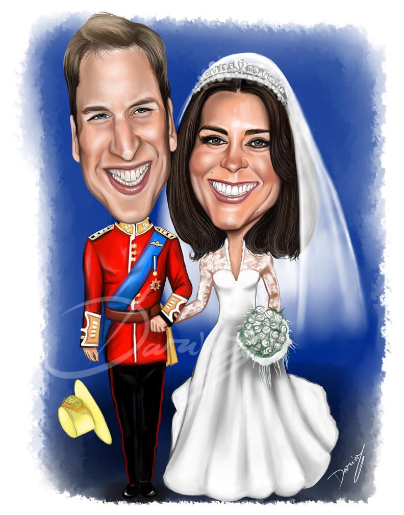 Royal wedding caricature by dardesign on deviantart royal wedding caricature by dardesign voltagebd Images