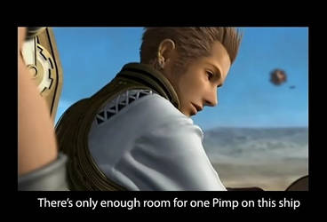 FF XII: Balthier's problem by shadowfox9845