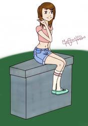 Character Everette Morton by KaikouYami
