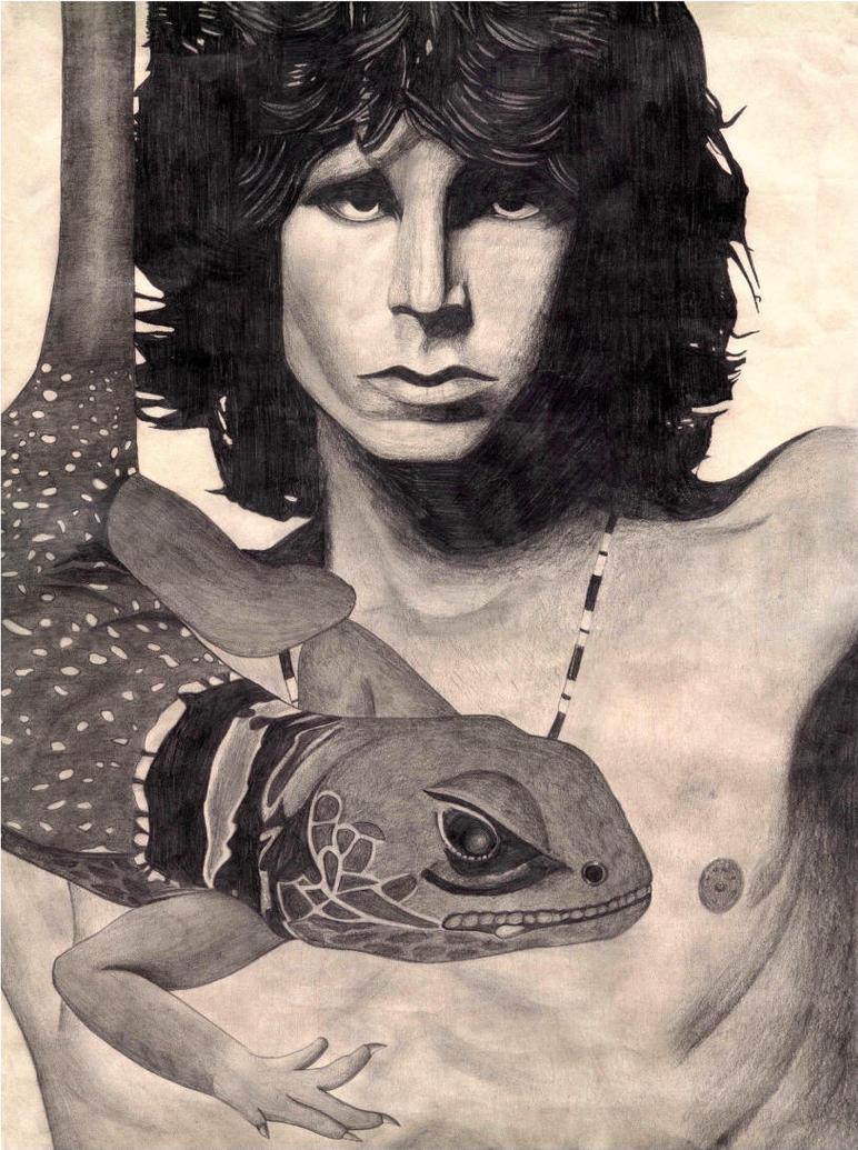 jim the lizard king morrison by ameliarose on deviantart