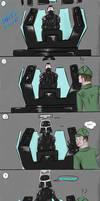 Comic - Vader's stuck!
