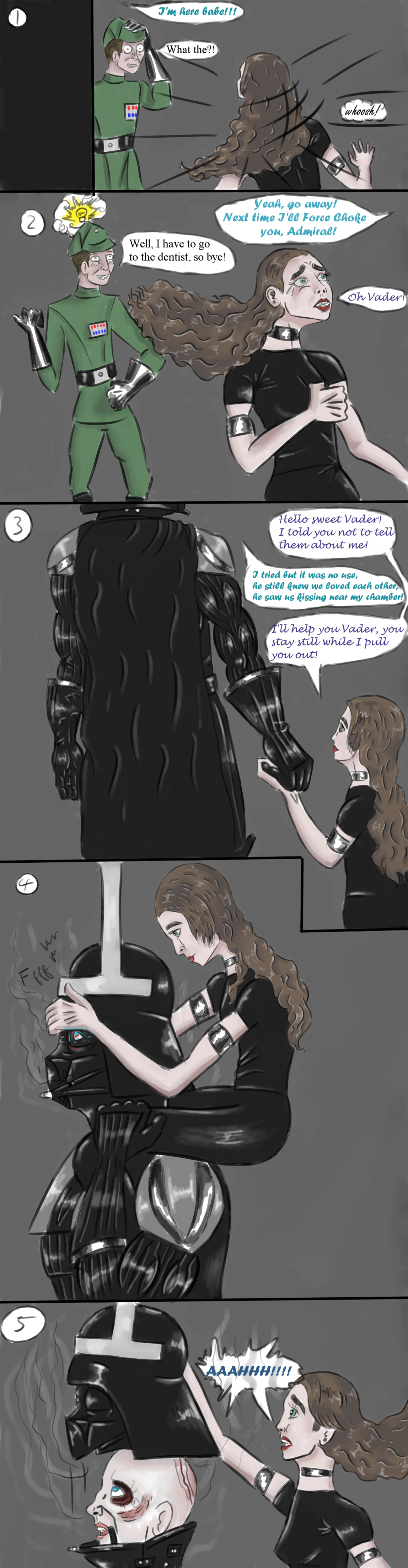 Comic - Vader's stuck! page 3 by EletricDaisy