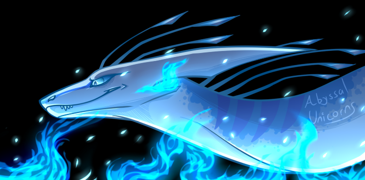 Blue Fire by darknessrosecrystal