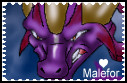 Malefor Stamp by Seeraphine