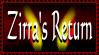 Zirra's Return stamp by Seeraphine
