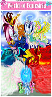 MLP- World of Equestria -COMIC COVER-