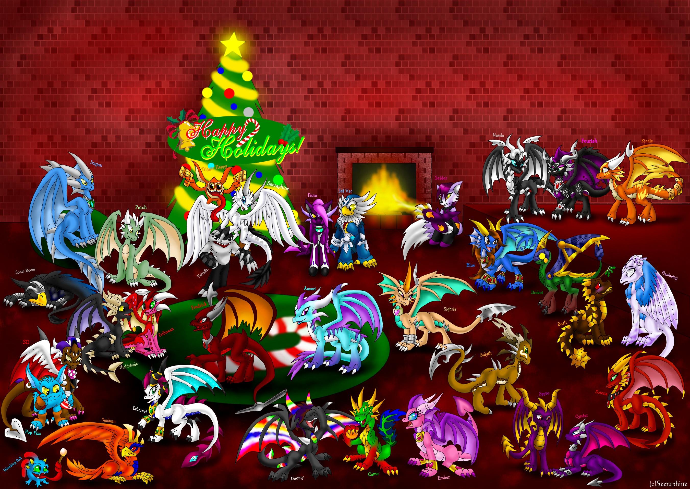 A Skylanders Christmas by Seeraphine on DeviantArt