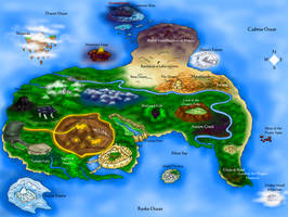 Map of the Dragon Lands