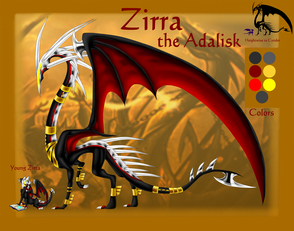 Zirra the Adalisk ref 2015 by Seeraphine