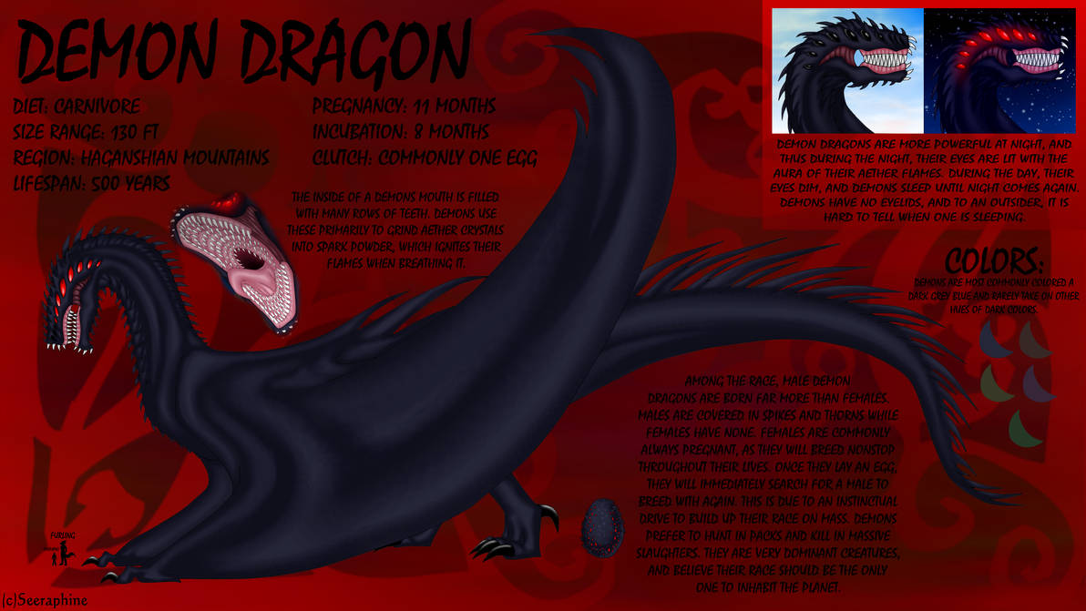 Demon Dragon Ref by Seeraphine on DeviantArt