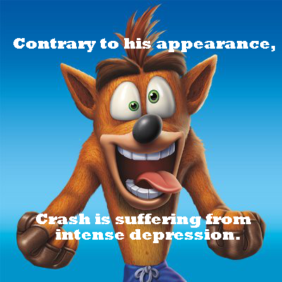 Crash Bandicoot by furryforev