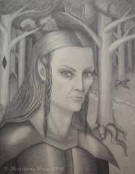 Dark Elf by seclusivebeauty
