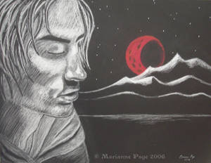 Crimson Moonrise
