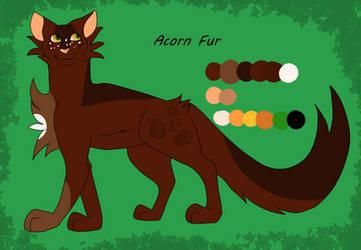 Acorn Fur Design by MapleLeafSunset