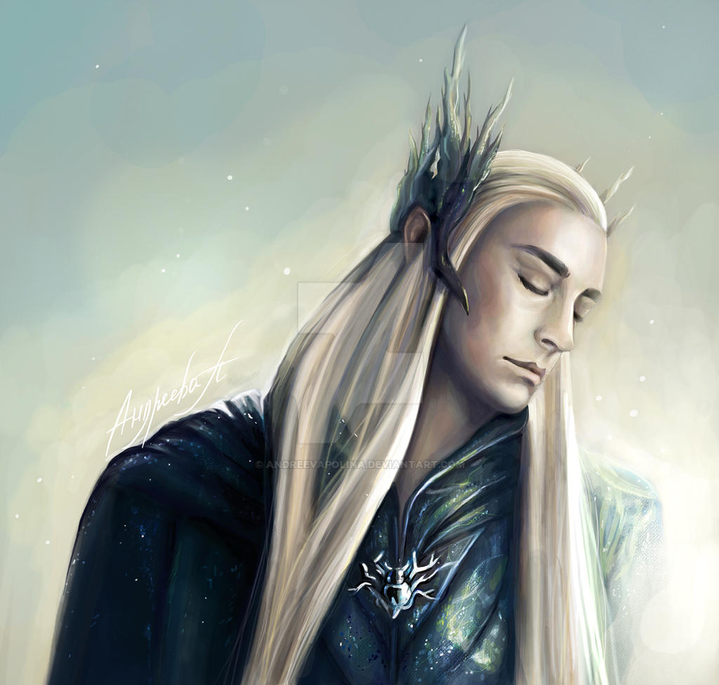 Thranduil-The elven king by AndreevaPolina