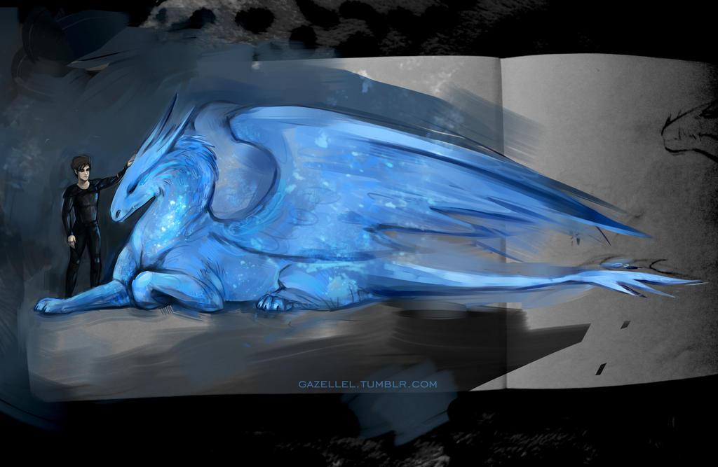 Eragon And Saphira By Andreevapolina On Deviantart