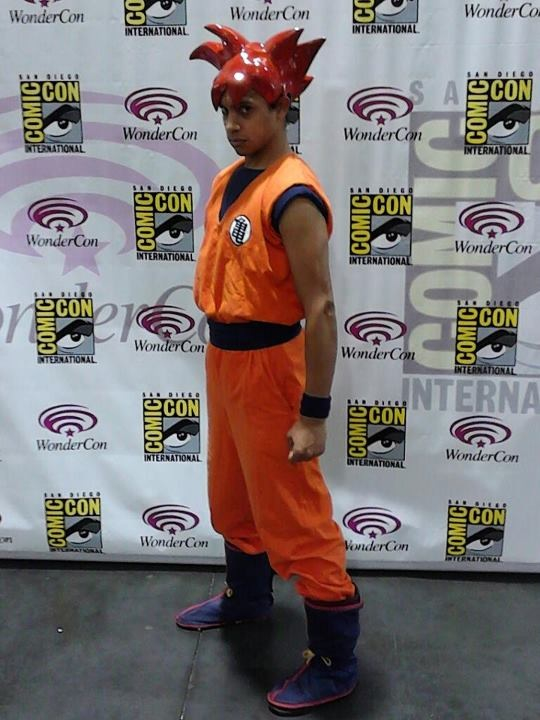 Super Saiyan God Son Goku! by tousen-kaname