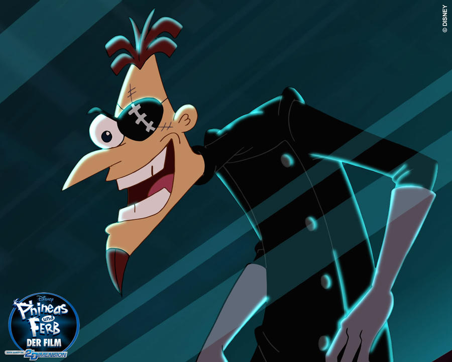 2nd Dimension Doofenshmirtz by EmissixD on DeviantArt