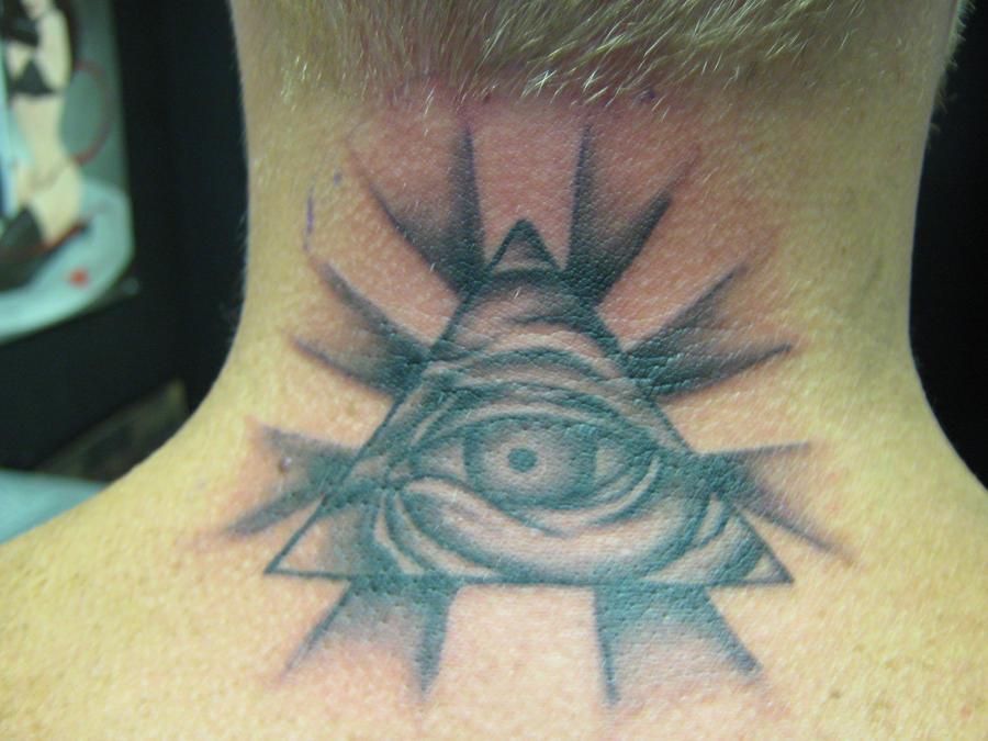all seeing eye tattoo by nathanleesmith on deviantart. Black Bedroom Furniture Sets. Home Design Ideas