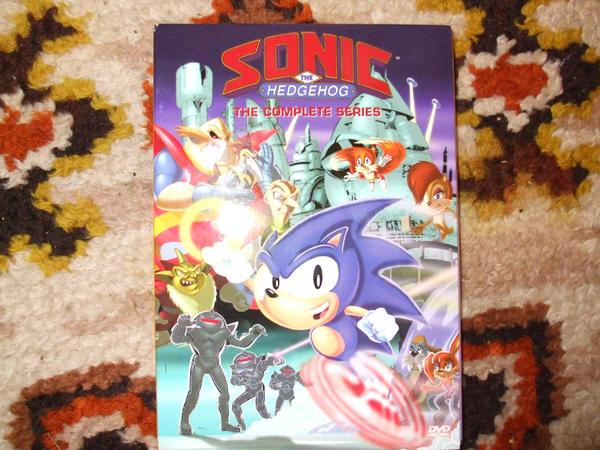 Sonic The Hedgehog Dvd Set By Lol20 On Deviantart