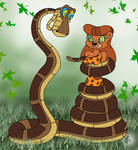 Kaa and Jungle Becky Painted